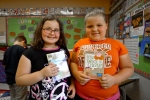 Students LOVE their new books! Thanks to Page Ahead each student in the Feed Your Brain program gets to pick out a brand new book each week to take home.