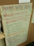 """See all the books we read!"" exclaimed one kindergartner."