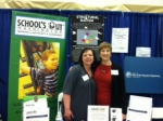 Teresa Schultz, Volunteer, and Lynne Tucker, Education Policy and Advocacy Director